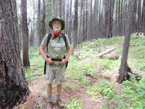 Cleft Rock Trail in old Wedge Canyon Fire burn area