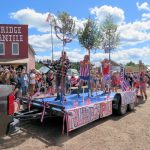 Polebridge 4th of July Parade, 2016 - Pole Dancers