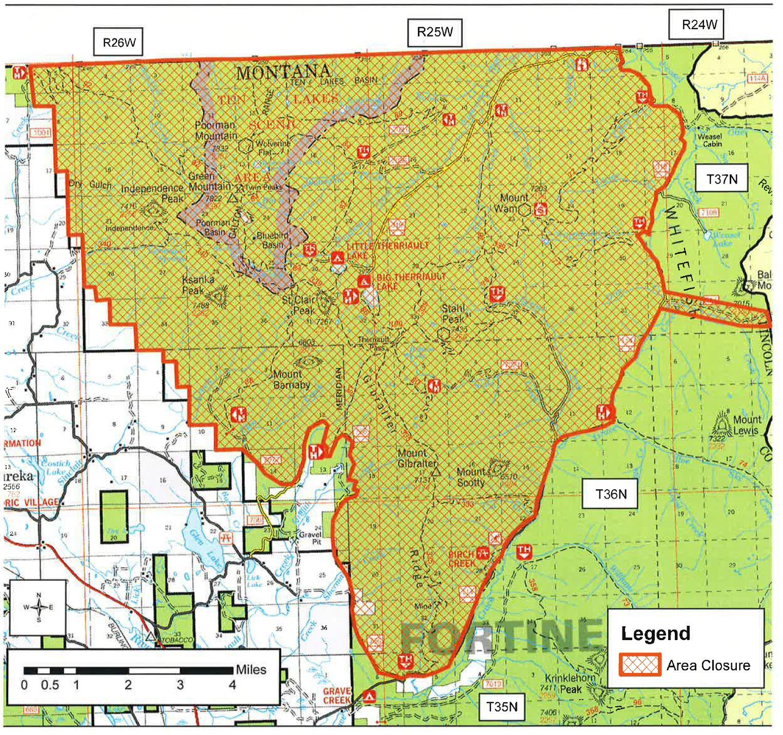 Current Fire Map Montana.News North Fork Trails Association