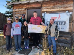 Le Grizz donates to Flathead Special Olympics and North Fork Trails, Oct. 12, 2019