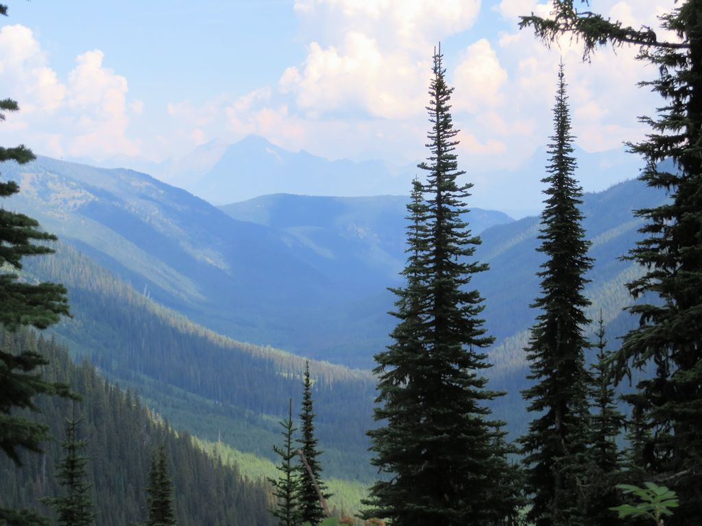 Hay Creek Drainage from West End