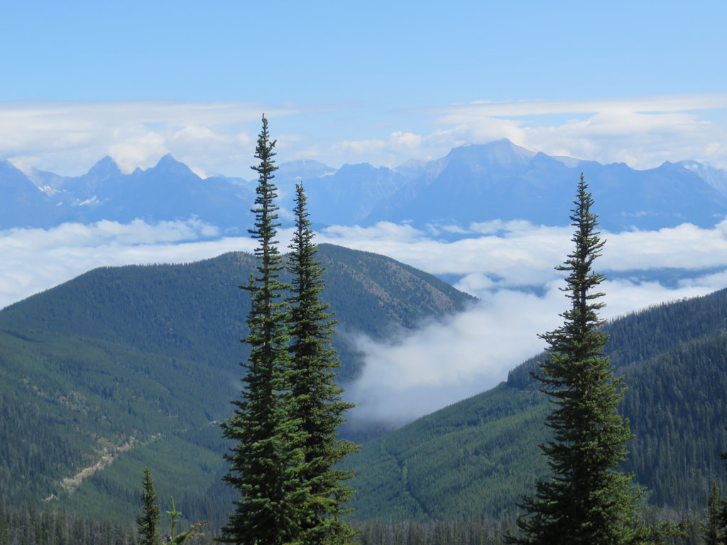 View from Coal Ridge - fog in the valleys