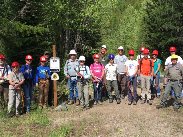 2016 National Trails Day - Trail Crew